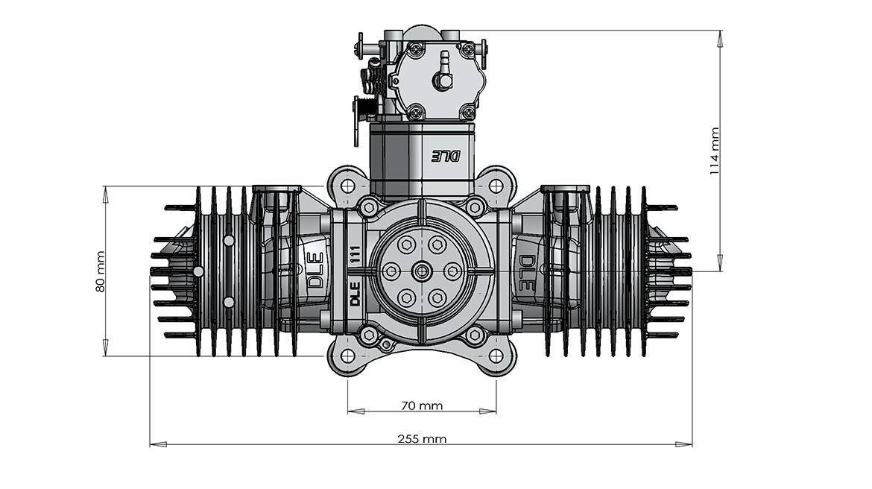 DLE111安装尺寸