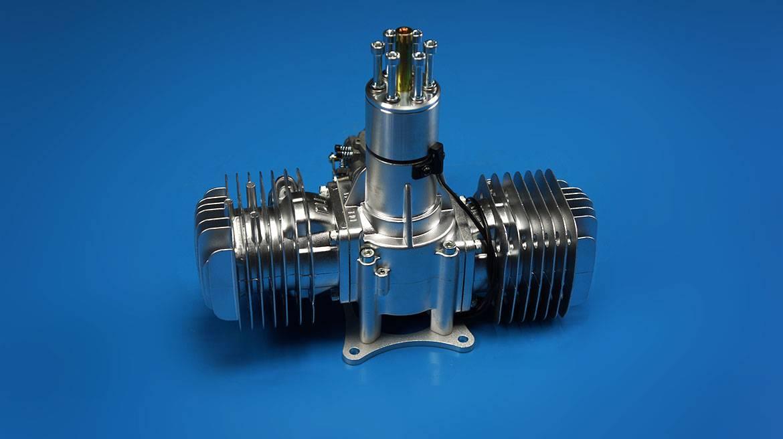 DLE111航模汽油发动机 双缸自然风冷