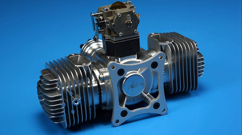 DLE170航模汽油发动机 双缸自然风冷