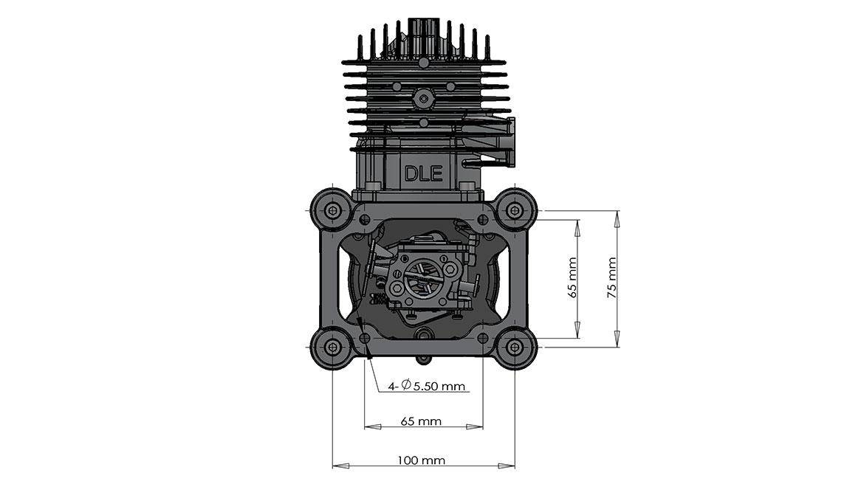 DLE85安装尺寸