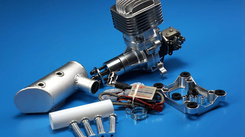DLE85航模汽油发动机 单缸自然风冷